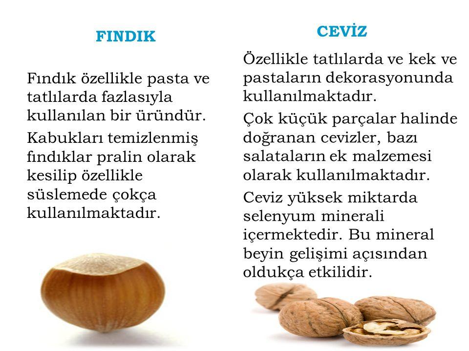 CEVİZ FINDIK.
