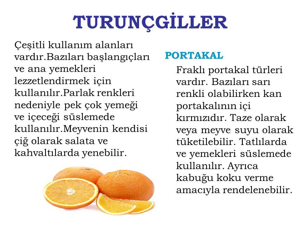 TURUNÇGİLLER