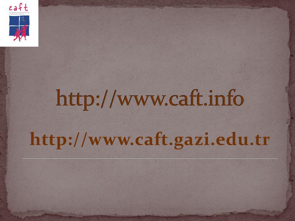 http://www.caft.info http://www.caft.gazi.edu.tr