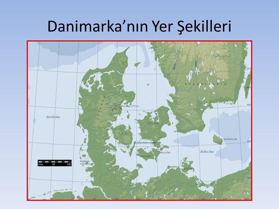 Danimarka'nın Yer Şekilleri