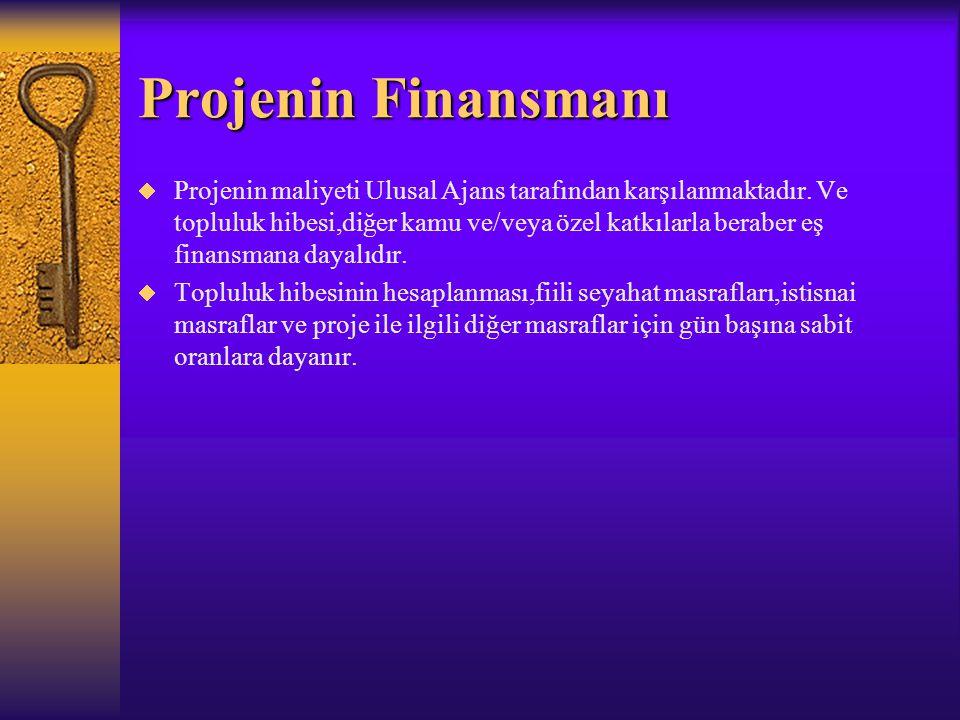 Projenin Finansmanı