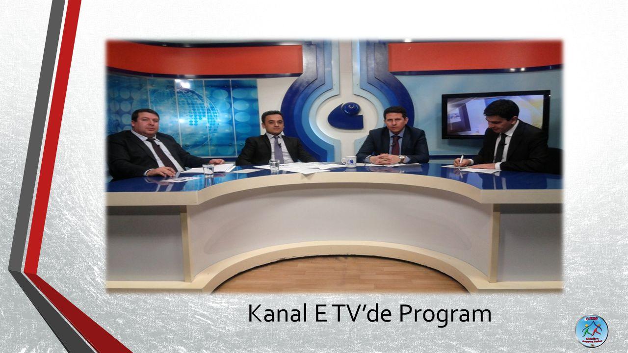 Kanal E TV'de Program