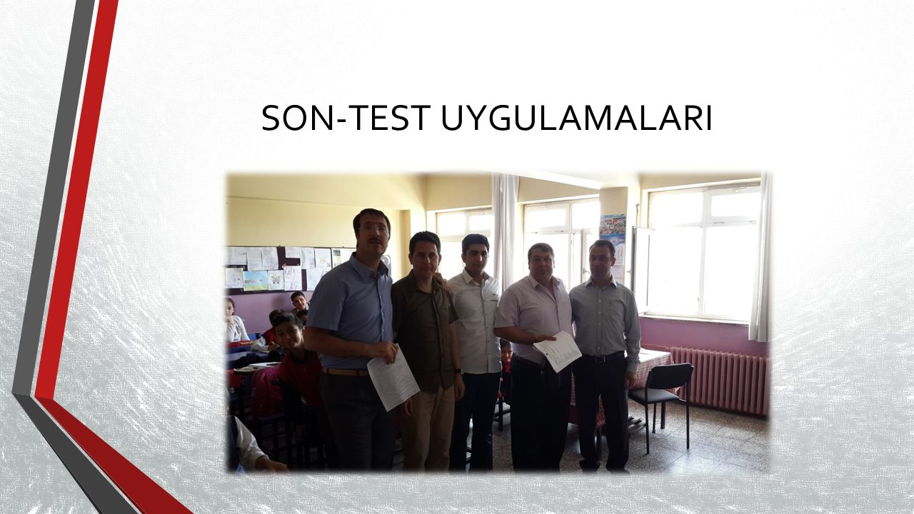 SON-TEST UYGULAMALARI