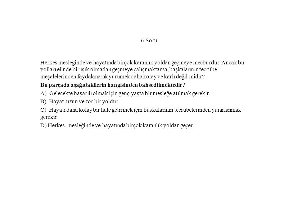 6.Soru