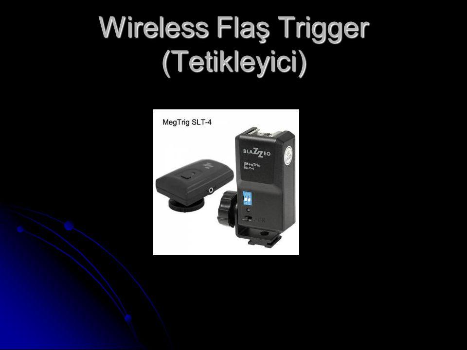 Wireless Flaş Trigger (Tetikleyici)