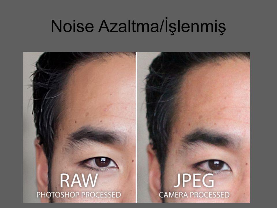 Noise Azaltma/İşlenmiş