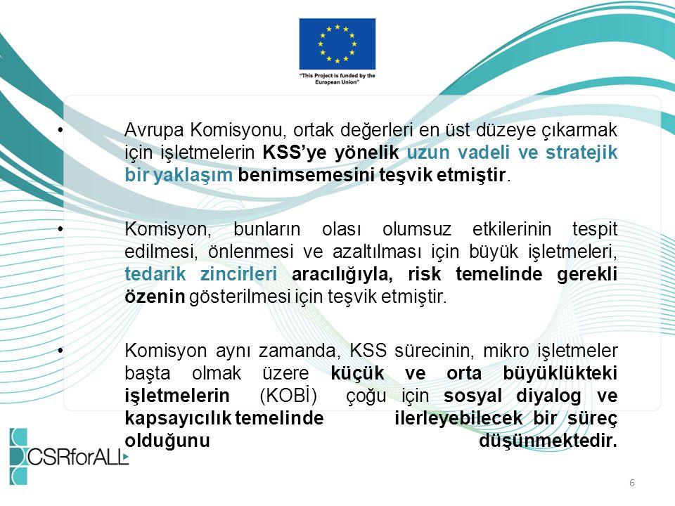 Avrupa Komisyonu, ortak değerleri en üst düzeye çıkarmak