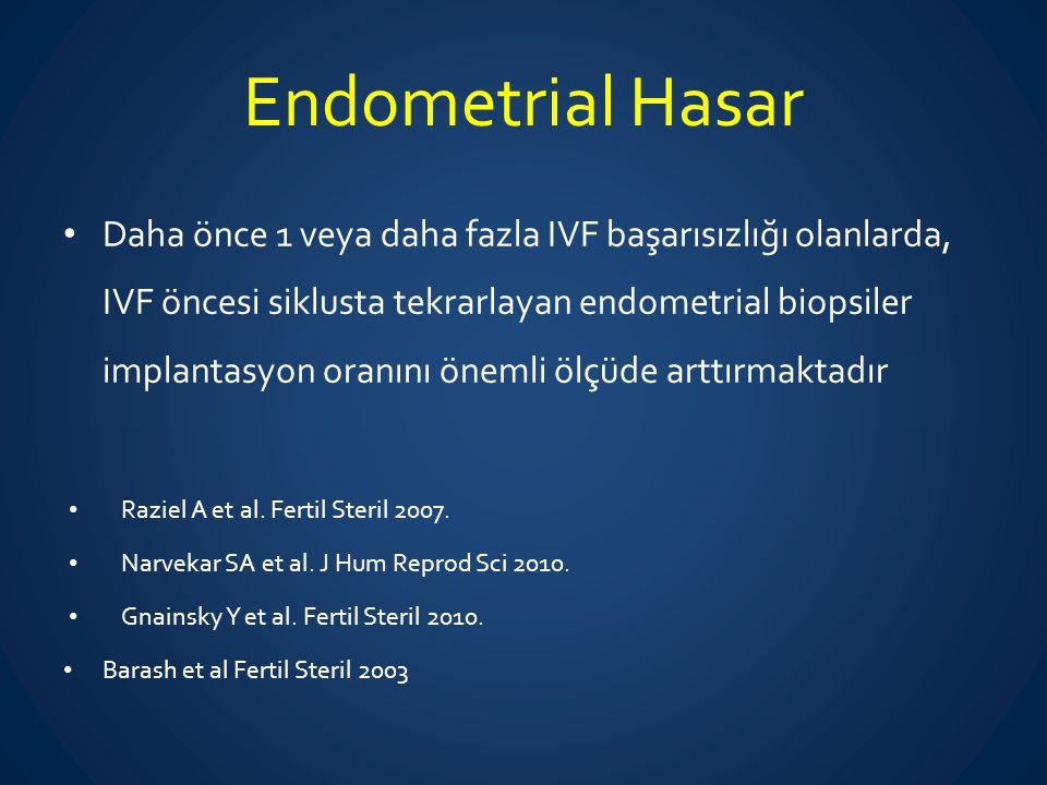 Endometrial Hasar