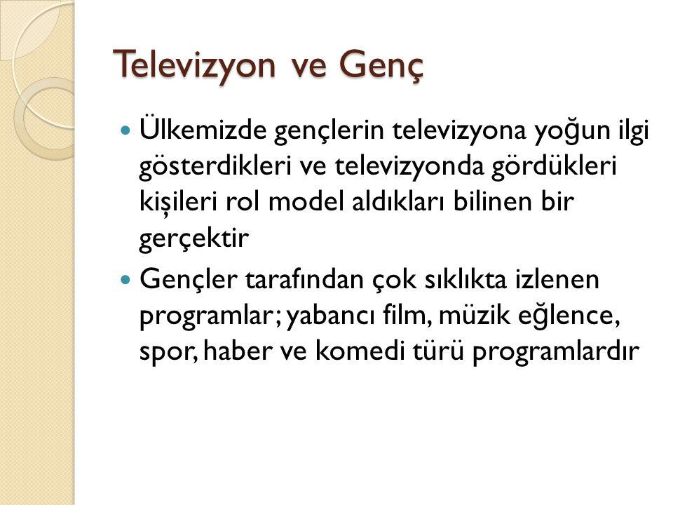 Televizyon ve Genç