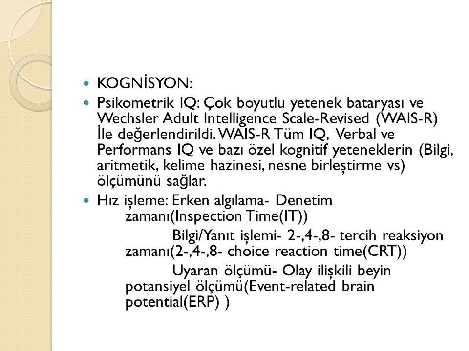 KOGNİSYON: