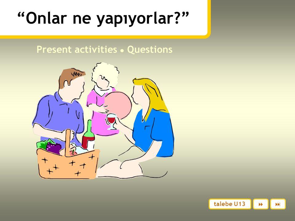 Present activities ● Questions