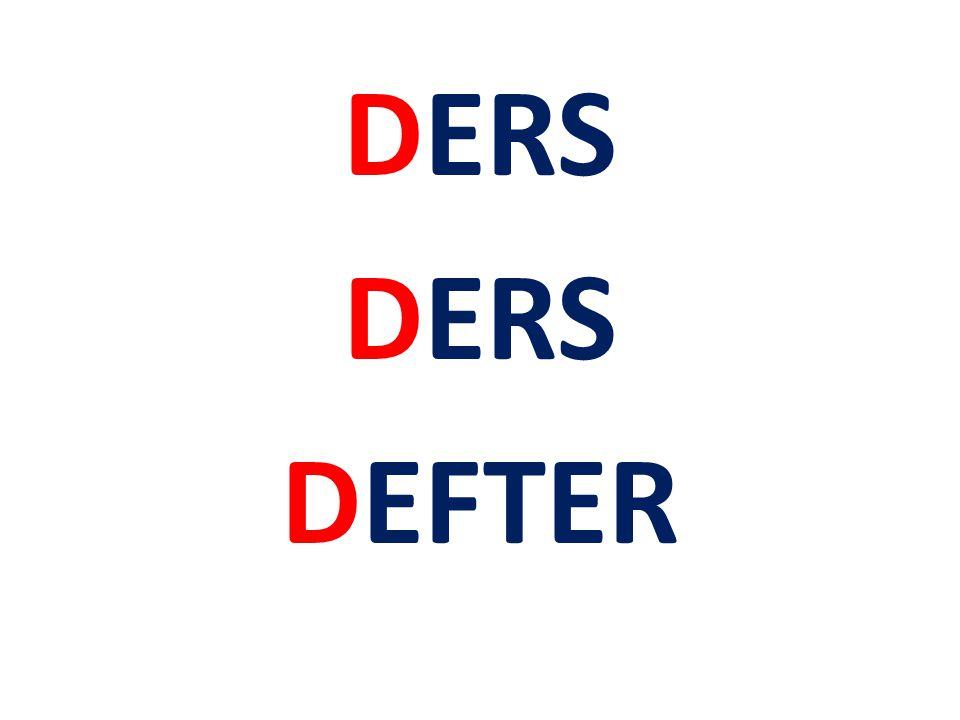 DERS DEFTER