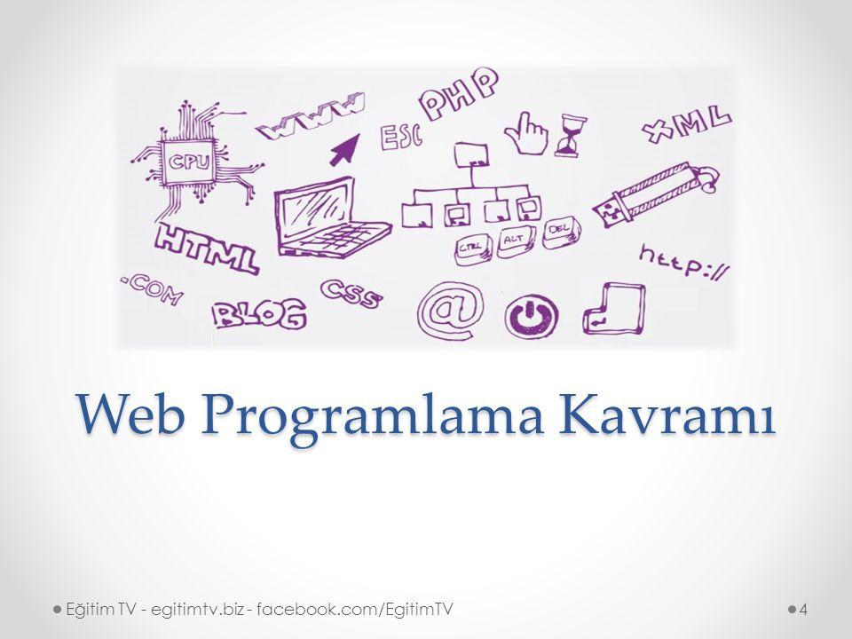 Web Programlama Kavramı