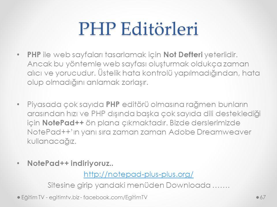 Sitesine girip yandaki menüden Downloada …….