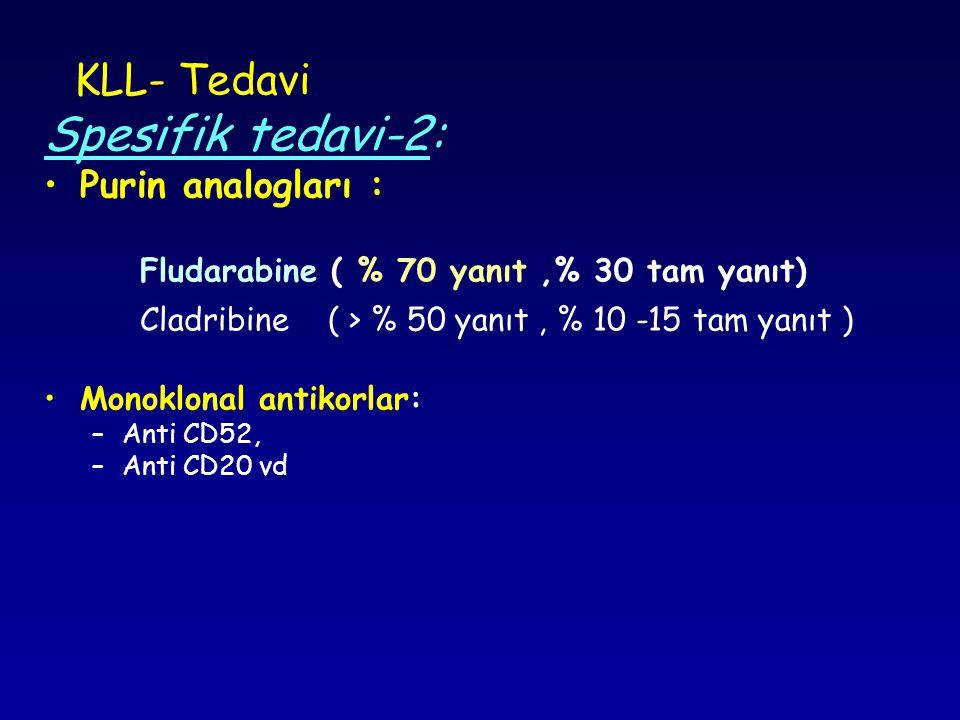 Spesifik tedavi-2: KLL- Tedavi