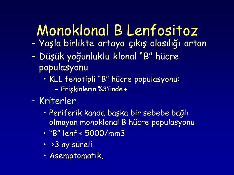 Monoklonal B Lenfositoz