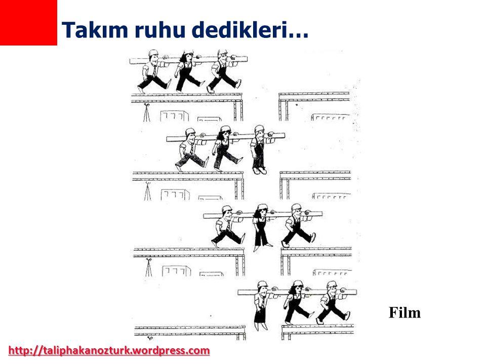 Takım ruhu dedikleri… Film http://taliphakanozturk.wordpress.com
