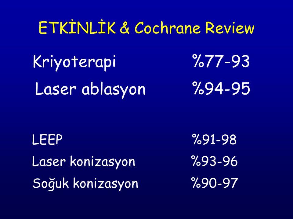 ETKİNLİK & Cochrane Review