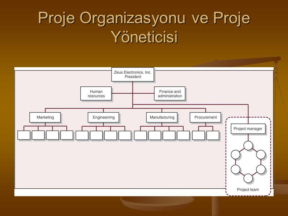 Proje Organizasyonu ve Proje Yöneticisi
