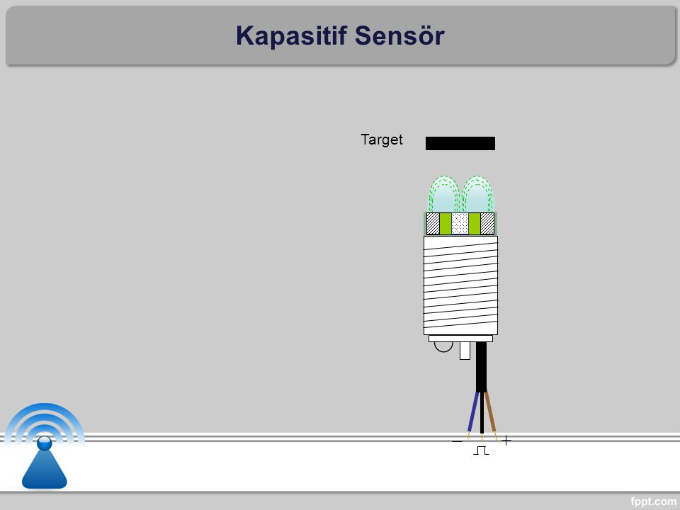 Kapasitif Sensör Target