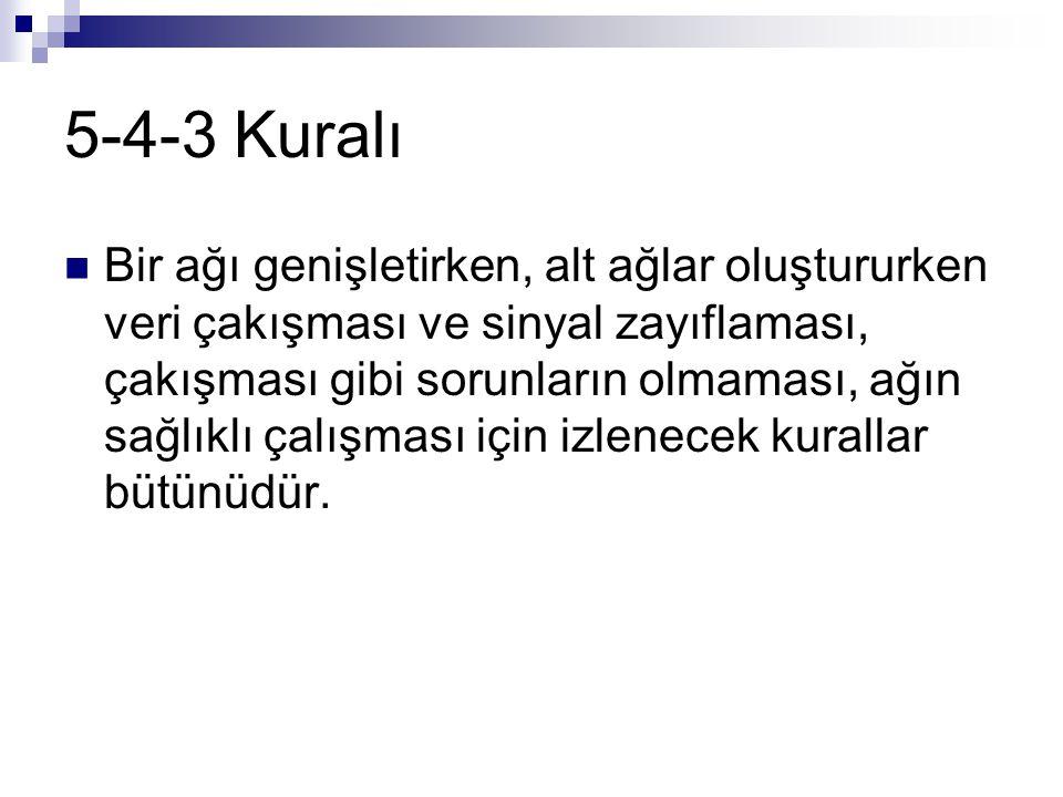 5-4-3 Kuralı