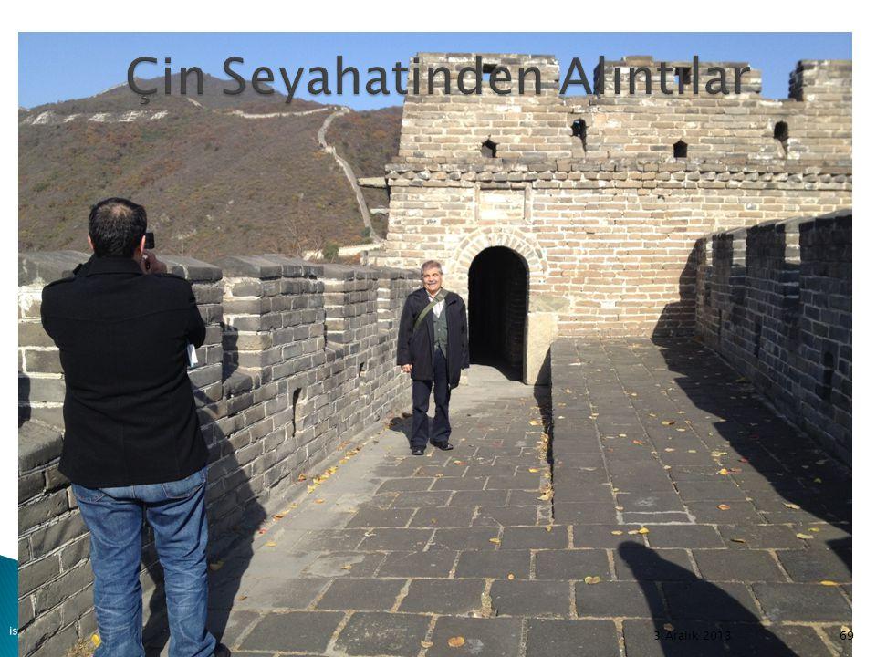 Çin Seyahatinden Alıntılar