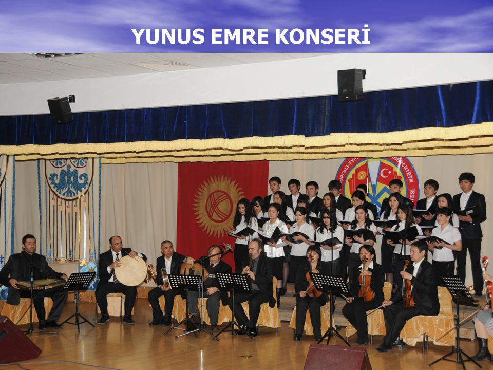 YUNUS EMRE KONSERİ