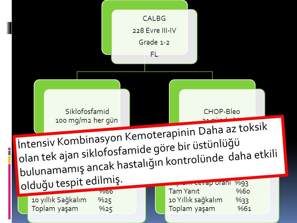Siklofosfamid 100 mg/m2 her gün