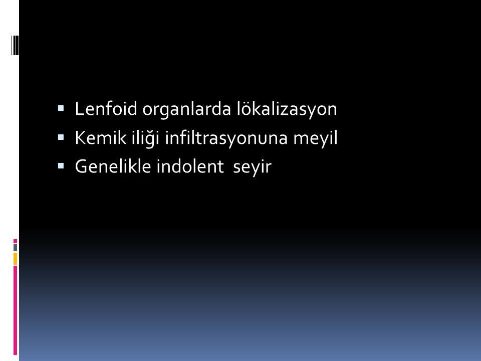 Lenfoid organlarda lökalizasyon