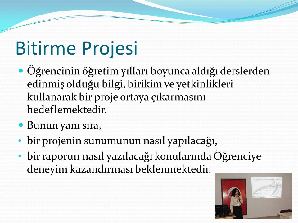 Bitirme Projesi