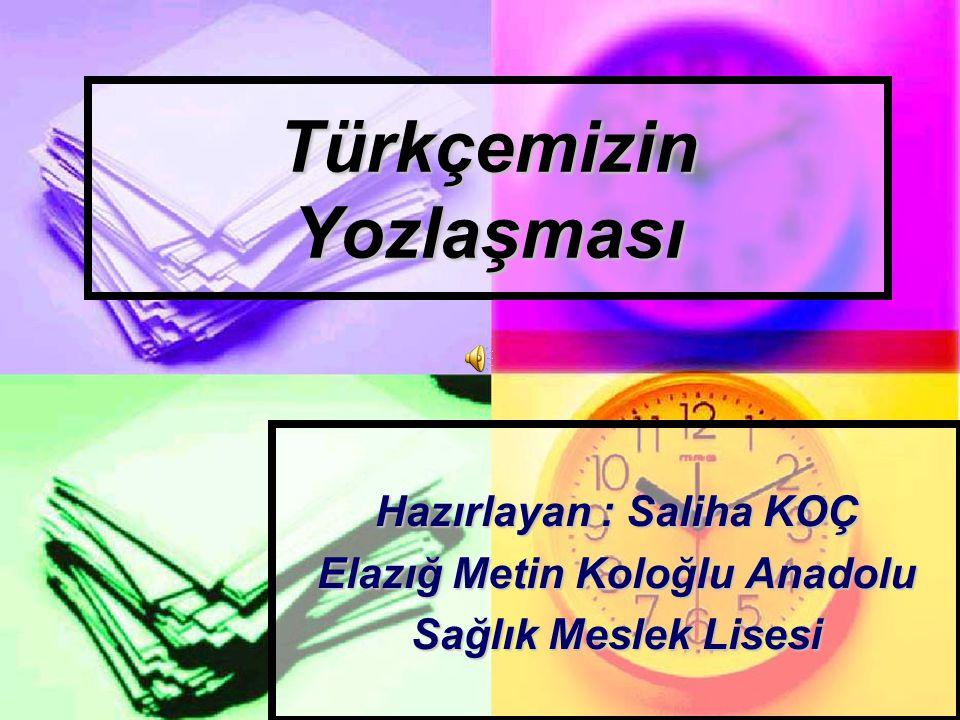 Türkçemizin Yozlaşması