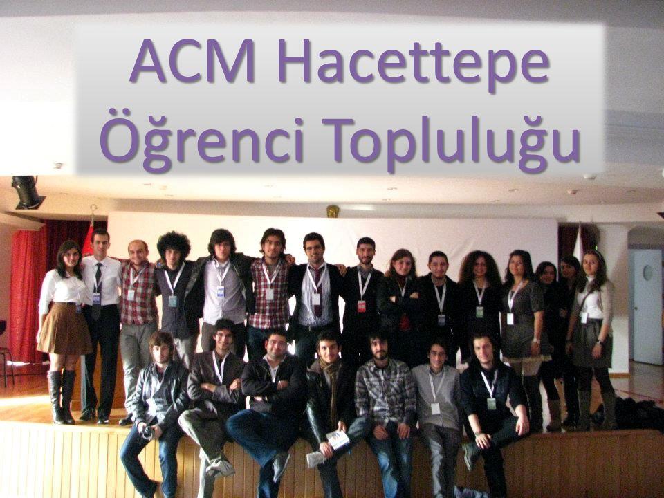 ACM Hacettepe Öğrenci Topluluğu