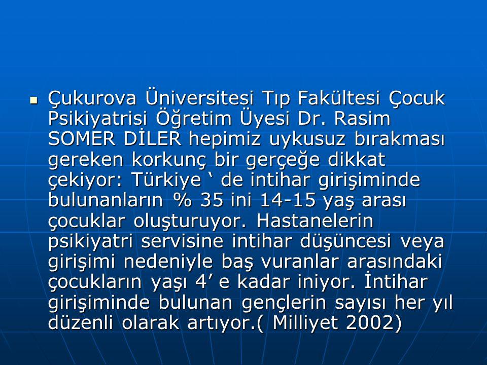 Çukurova Üniversitesi Tıp Fakültesi Çocuk Psikiyatrisi Öğretim Üyesi Dr.