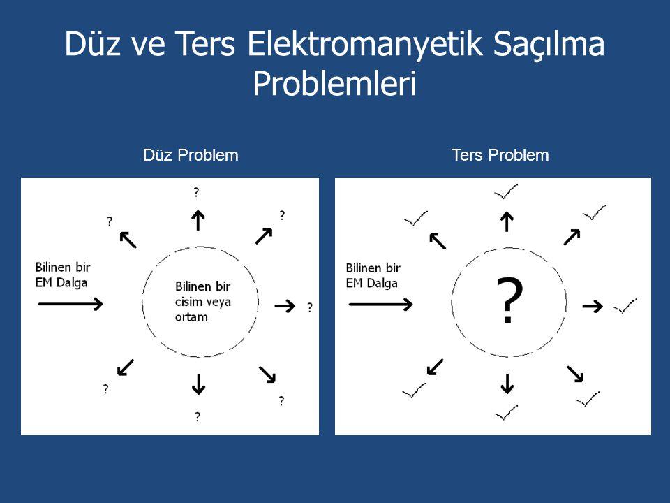 Düz ve Ters Elektromanyetik Saçılma Problemleri