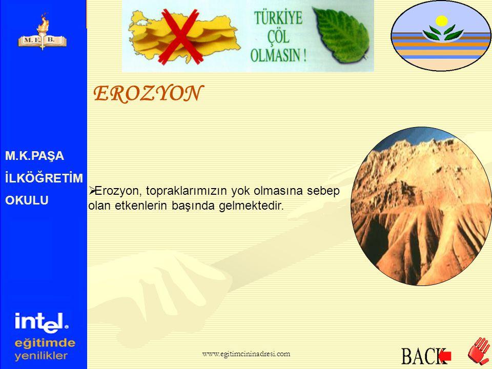 EROZYON M.K.PAŞA İLKÖĞRETİM OKULU