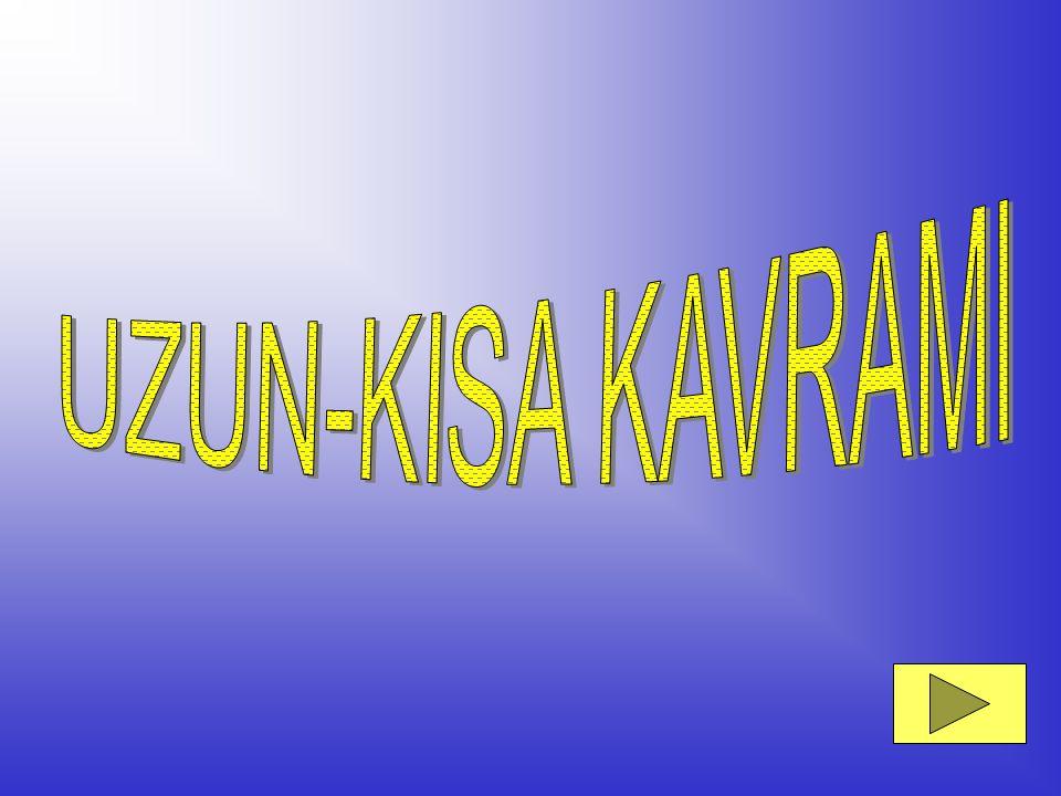 UZUN-KISA KAVRAMI