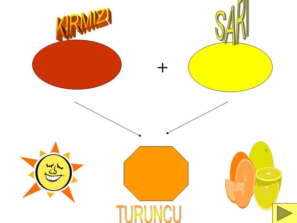 SARI KIRMIZI + TURUNCU