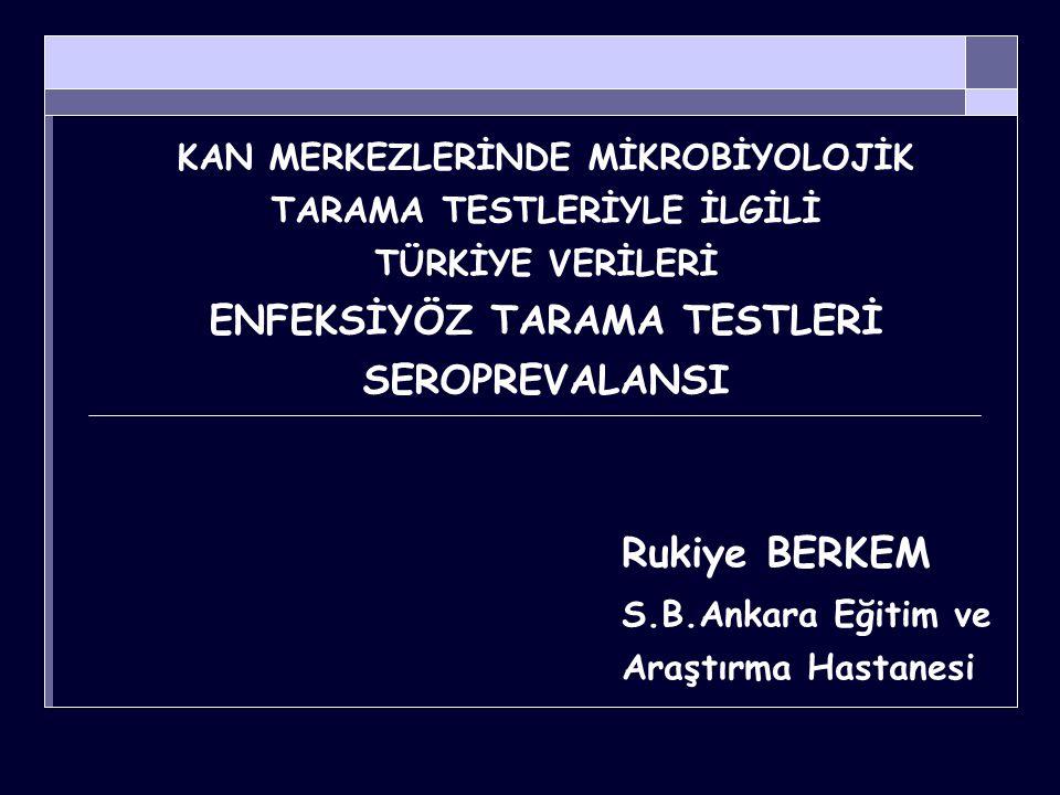 Rukiye BERKEM S.B.Ankara Eğitim ve Araştırma Hastanesi
