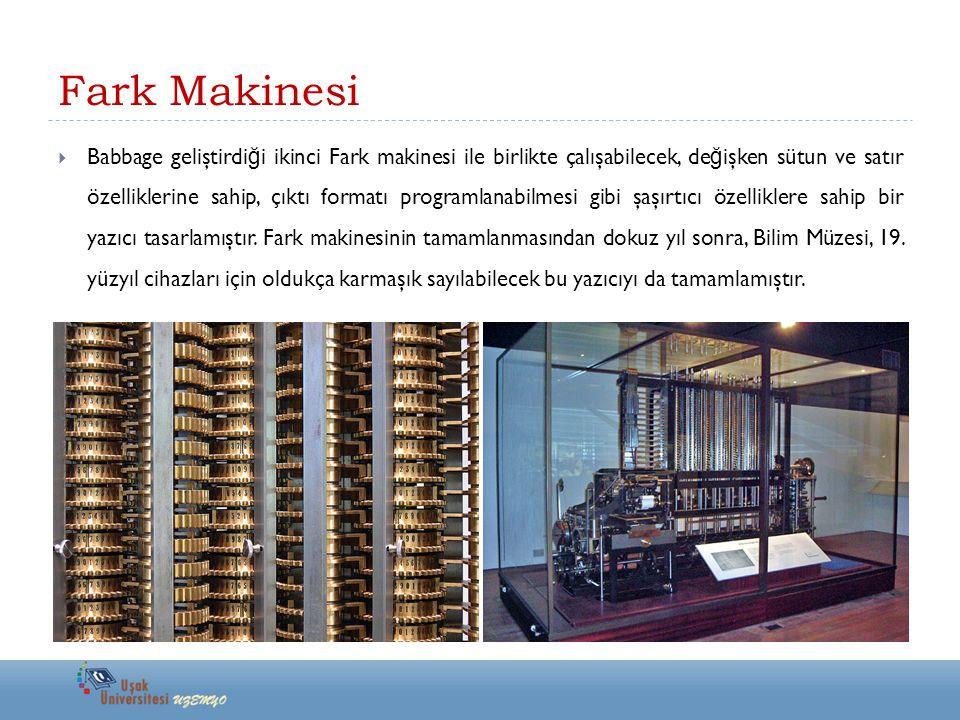 Fark Makinesi