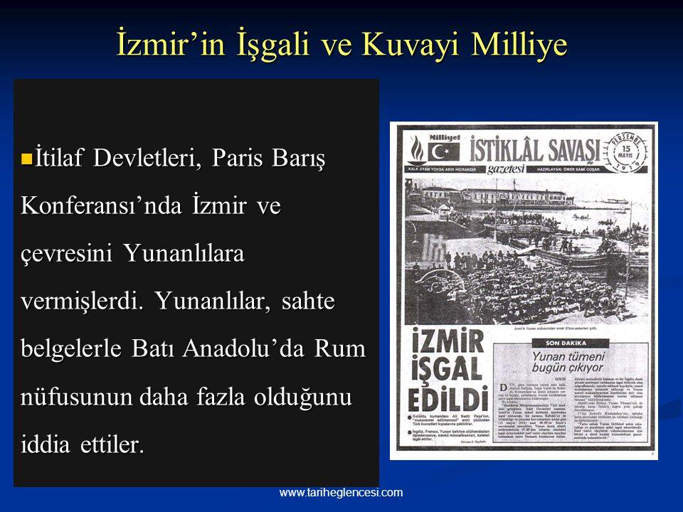İzmir'in İşgali ve Kuvayi Milliye