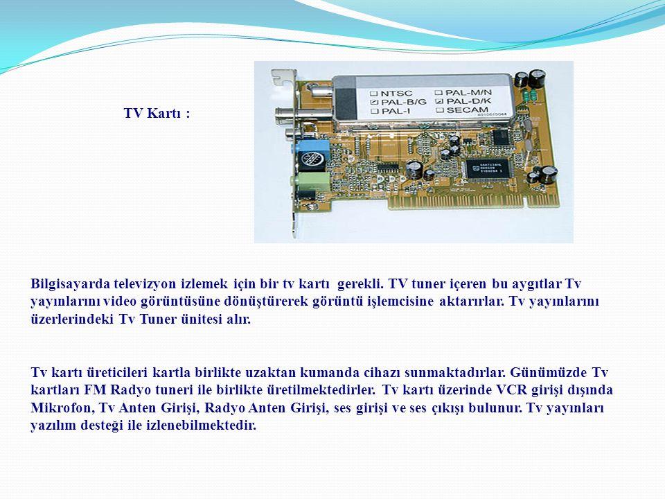 TV Kartı :
