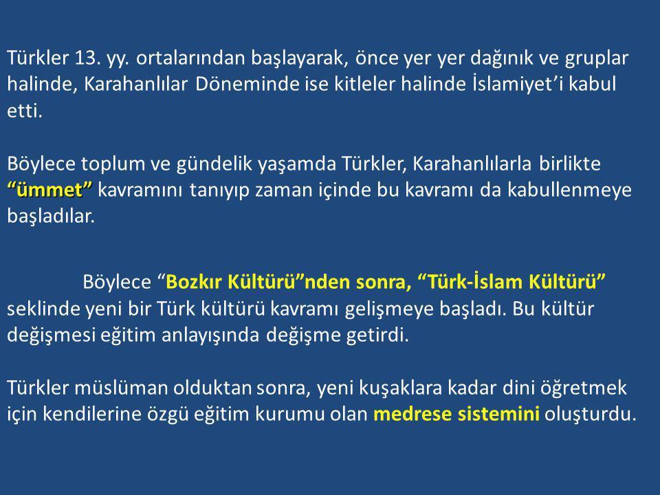 Türkler 13. yy.