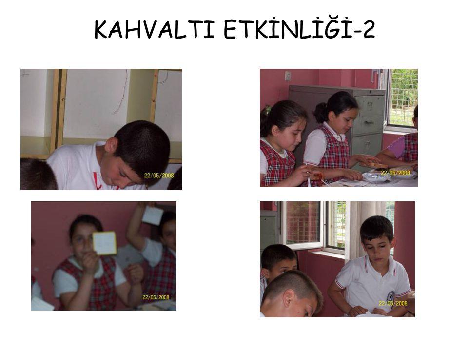 KAHVALTI ETKİNLİĞİ-2