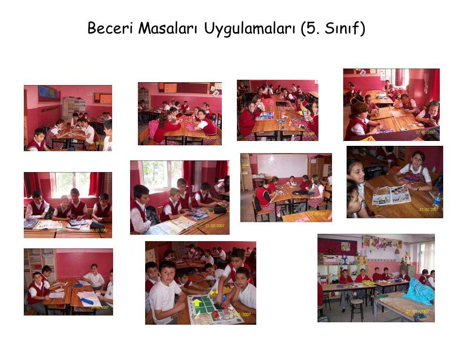 Beceri Masaları Uygulamaları (5. Sınıf)