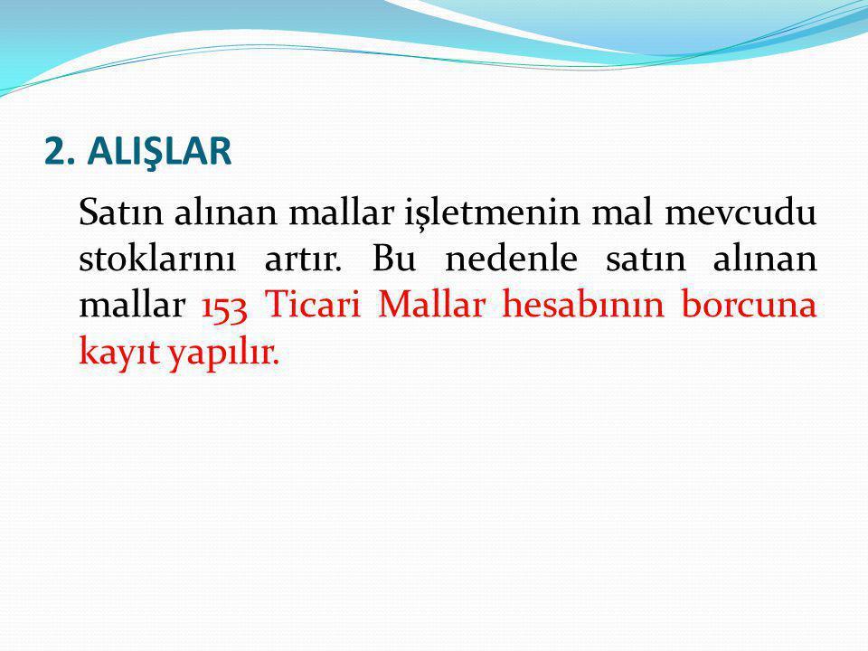 2. ALIŞLAR