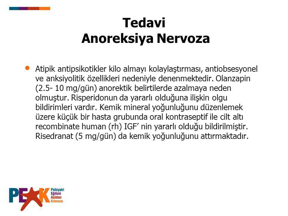 Tedavi Anoreksiya Nervoza