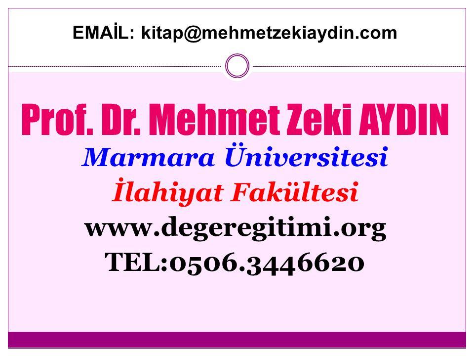 EMAİL: kitap@mehmetzekiaydin.com