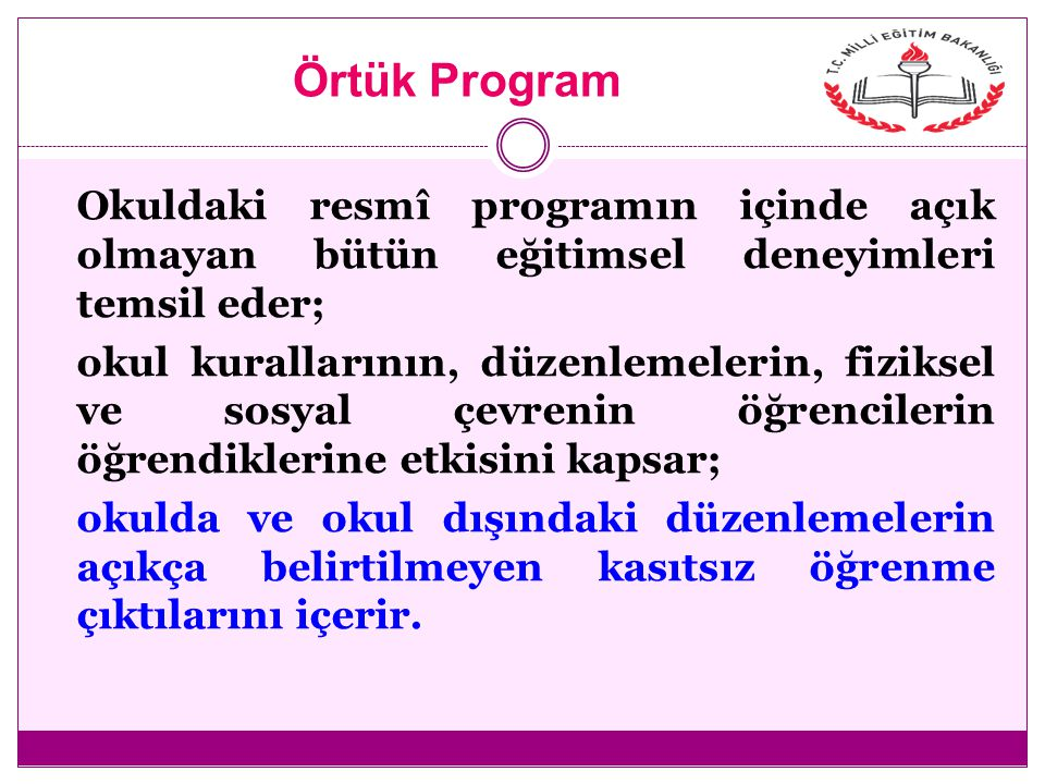Örtük Program