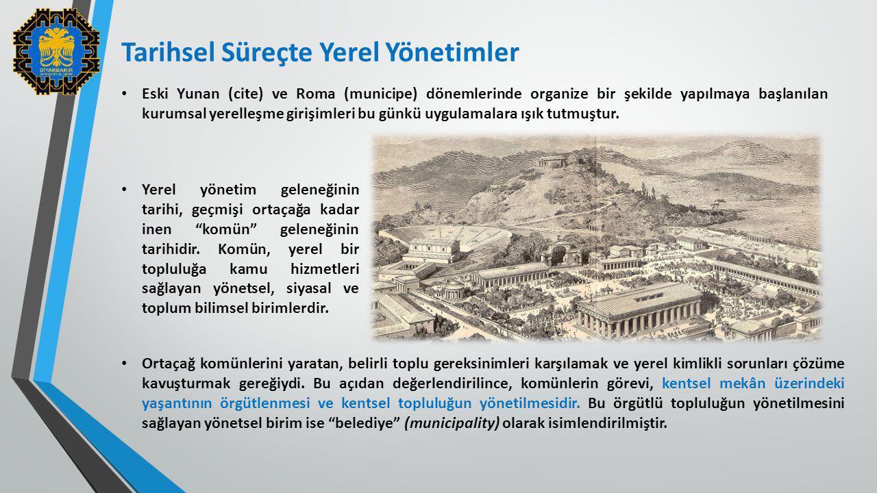 Tarihsel Süreçte Yerel Yönetimler