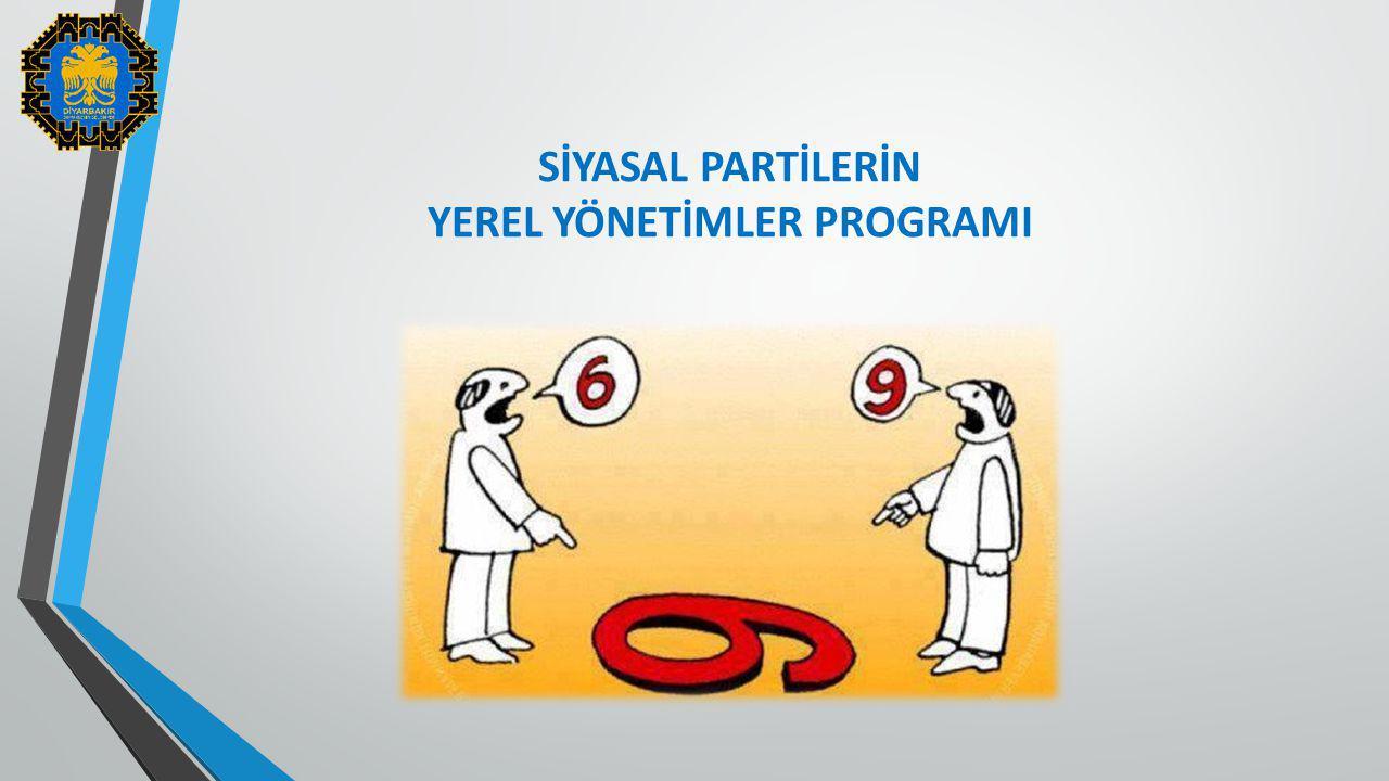 YEREL YÖNETİMLER PROGRAMI